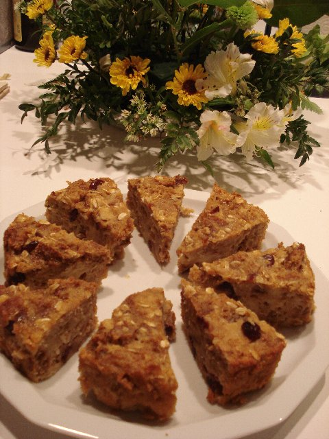Old fashioned Bread Pudding - individual portions